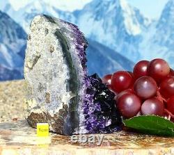 Large Amethyst Quartz Crystal Cluster Geode Natural Raw Mineral Healing 788g