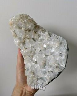 Large Apophyllite Crystal Cluster Natural 220x140mm 3kg