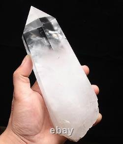 Large Clear Lemurian Quartz Natural Point Cluster Crystal Rough Healing