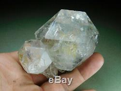 Large Herkimer Diamond Natural Quartz Crystal Chisel Tip Cluster New York SALE