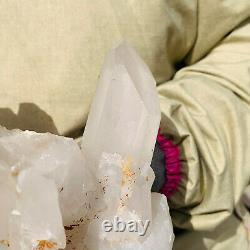 Large Natural White Quartz Crystal Cluster Rough Specimen Healing Stone