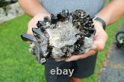 Large Smoky Quartz Crystal Cluster Points 5+ Lbs US Seller! Free Ship