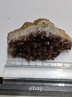 Large Thunder Bay Amethyst Quartz Purple Crystal Cluster Red big Thunderbay