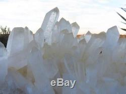Natural Extra Large Quartz Crystal Cluster Hedgehog