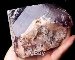 Natural Skeletal Amethyst QUARTZ Crystal Cluster Specimen Healing 3.43lb