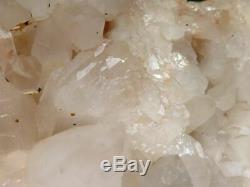 Natural Very Large Clear Madagascar Quartz Crystal Cluster