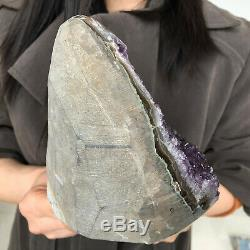 Natural amethyst cluster quartz geode crystal specimen healing 800-1000g