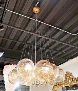 New Restoration Hardware Replica Modern Cluster Bistro Globe Pendant Chandelier