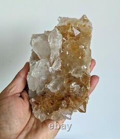 Pink Himalayan Quartz Cluster Natural Crystal 160x110mm