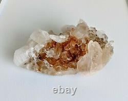 Pink Himalayan Quartz Cluster Natural Crystal 160x90mm