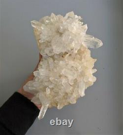 Quartz Cluster (A Grade) Natural Himalayan Crystal (170x130mm)