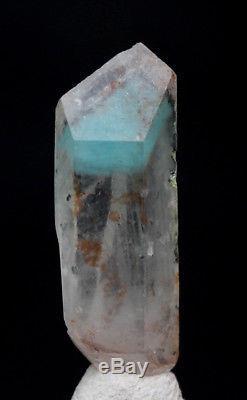 RARE Ajoite Quartz Crystal Cluster Mineral Specimen Messina Copper Mine S. Africa