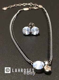 SABIKA Not Simply Black Necklace Choker & Earrings NEW Winter 2010