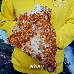 Spectacular Citrine Quartz Crystal Cluster Natural Raw Healing Mineral 3kg