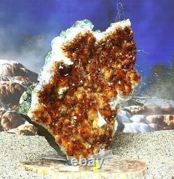 Spectacular Citrine Quartz Crystal Cluster Natural Raw Healing Mineral 5.5kg