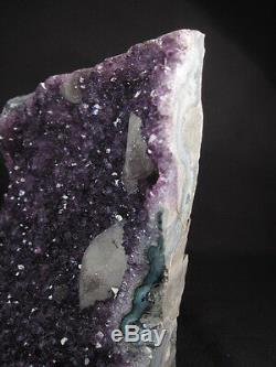 Stunning large amethyst crystal cluster from Uruguay- A+ grade gem crystals