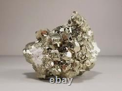 Top Quality Peruvian Pyrite Crystal Cluster