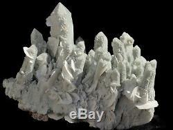 Top QualityGreen Quartz Cluster Mineral Specimen From China