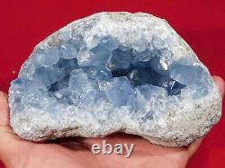 Translucent BLUE Crystals! A BIG Celestite or Celestine Crystal Cluster! 1635gr