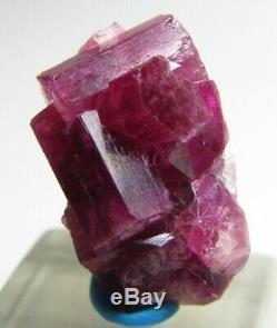 Unbelievable Aesthetic Gem Red Beryl Bixbite Crystal Cluster! Wah Wah Mts Utah