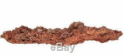 Vanadinite Mineral Specimen 243 gram Crystal Cluster 5 x 3 x 1/4 VAN043