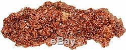Vanadinite Mineral Specimen HUGE 2885gr Crystal Cluster 11.5 x 4.5 x 3.5 VAN045