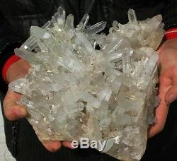 10,45 Lb Aaa +++ Spécimen De Cristal Cristallin Fantôme Fantôme Vert-vert Clair