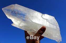 10.97lb Aaa ++ Naturel Lémurien Graine Quartz Spécimen De Grappe De Cristal