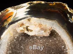 10lbs Agate Géode Cristal Quartz Poli Druzy Specimen Cluster Brésil