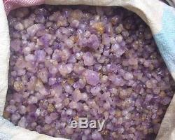 11.0lb Petite Améthyste Quartz Crystal Cluster Points Vente En Gros