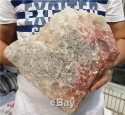 11.1lb Aa +++ Naturel Citrine Quartz Cluster Cristal Baguette Point Spécimen 178.8oz