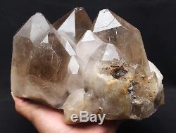 11,3 Lb Nouvelle Trouvaille Natural Clear Gold Spécimen En Cristal