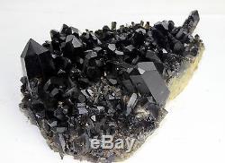 11.47lb Aaa +++ Beau Spécimen De Cristal De Quartz Noir De Quartz Rare
