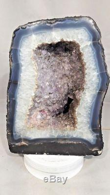 11 Spécimen De Grappes Naturelles De La Cathédrale Améthyste Géode Quartz Quartz