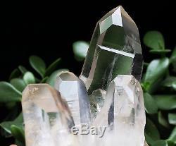 1180g Cristal Naturel Clair Magnifique Blanc Quartz Cristal Cluster Spécimen