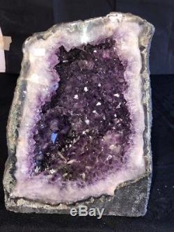 12 Cathédrale Améthyste Géode Quartz Cristal Décor Cluster Spécimen Brésil