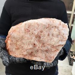 13.86lb Cluster Naturel Spécimen Minéral Cristal De Quartz Point De Cicatrisation Ap4582