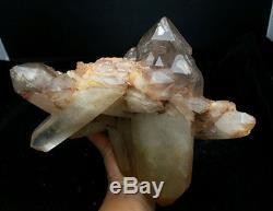 13lb Rare Natural Nouveau Trouver Un Spécimen Rouge De Cristal De Quartz Mica