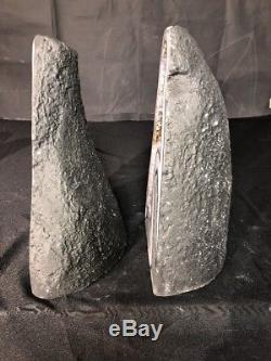 14 Améthyste Géode Quartz Cristal Cluster Cathédrale Prix Spécimen Pour La Paire