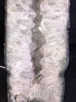 16 Amethyst Geode Cathedral Quartz Cristal Cluster Spécimen Brésil