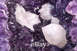 17.25 Cathédrale En Cristal Avec Améthyste Et Cristal
