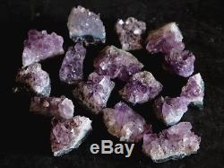 1lb Gros Améthyste Cristal Clusters Très Petits Cristal Quartz Améthyste Druzy