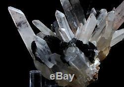 2.75in Hématite & Quartz Cluster Affichage Des Échantillons Minéraux