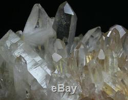 2073g A + Rare Naturel Nouvelle Trouvaille Spécimen De Grappe De Cristal De Quartz Rouge Reiki Wicca