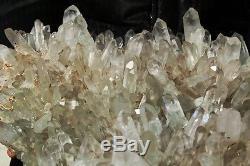 20lb Aaa +++ Spéculoos Fantôme Vert Naturel Fantôme Quartz Cristal Cluster Specimen