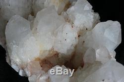 21.9lb Rare Squelette Blanc Claire Quartz Cluster Cluster Points De Tibétain