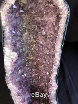 22 Cathédrale Améthyste Géode Quartz Cristal Cluster Spécimen Brésil