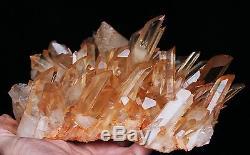 2210g Nouveau Find Clair Naturel Rose Quartz Crystal Cluster Original Specimen