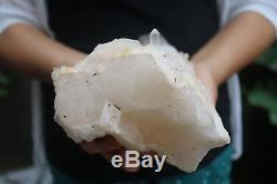 2220g Naturel Squelettique Elestial Clear Quartz Cristal Cluster Spécimen Tibet # 901
