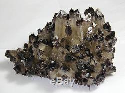 2258g Nouveau Trouver Améthyste Citrine Quartz Cristal Cluster Spécimen